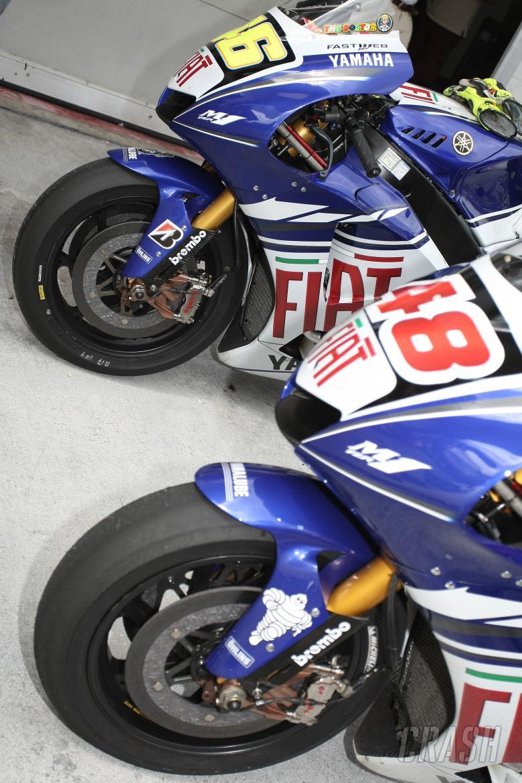 Fiat Yamaha Tyres, Bridgestone, Michelin, Malaysian MotoGP 2008