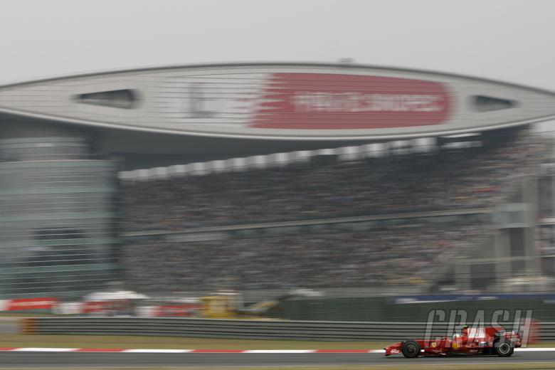 Felipe Massa (BRA) Ferrari F2008, Chinese F1 Grand Prix, Shanghai, 17th-19th October 2008