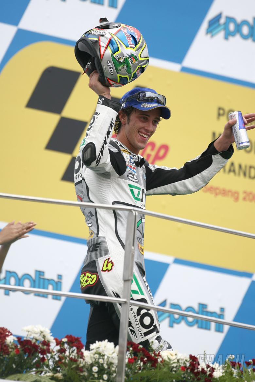 Dovizioso, Malaysian MotoGP Race 2008