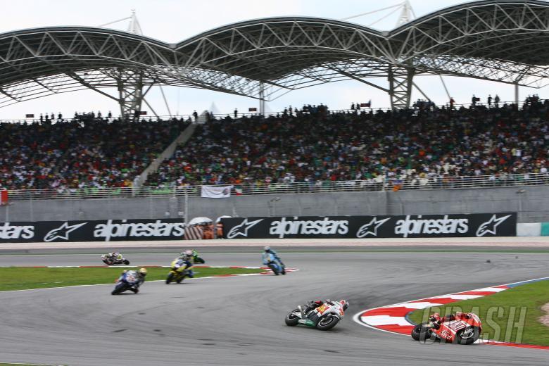 Stoner, Malaysian MotoGP Race 2008