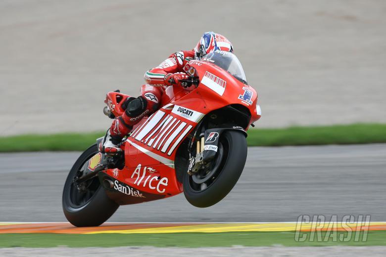 Stoner, Valencia MotoGP 2008