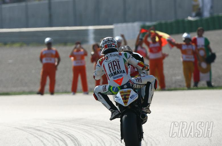 Lorenzo, Valencia MotoGP 2008