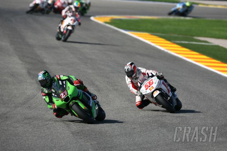 Hopkins, Nakano, Valencia MotoGP Race 2008