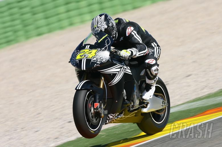 Elias, Valencia MotoGP Tests 2008