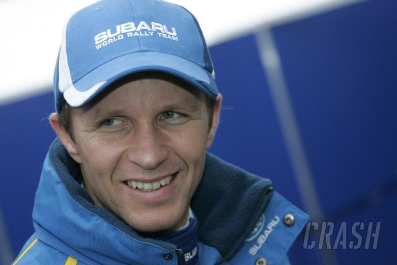 Petter Solberg (N) Subaru impreza WRC 2008