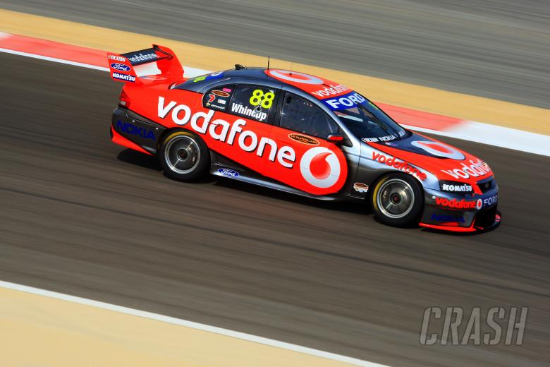 Jamie Whincup, (aust) Team Vodafone 888 Ford  The Desert 400 Rd 12 V8 Supercars Bahrain Internat