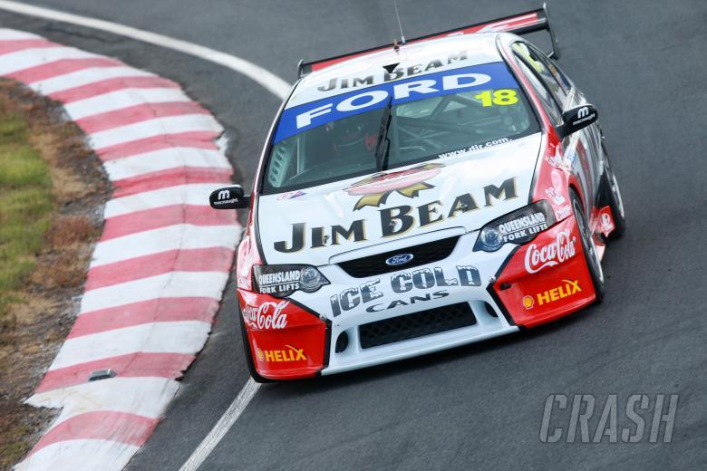 , , Will Davison, (aust), Jim Beam  DJR Ford    Falken Tasmania Challenge Rd 13 V8 Supercars Symmon