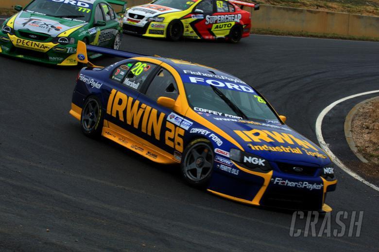 Marcus Marshall, (aust) Irwin Tools Britek Ford Falken Tasmania Challenge Rd 13 V8 Supercars Sy