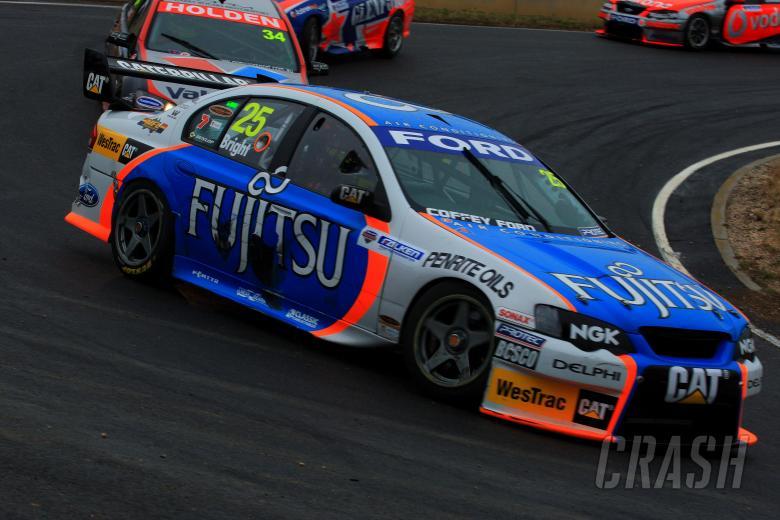 Jason Bright, (Aust), Fujitsu Britek Ford Falken Tasmania Challenge Rd 13 V8 Supercars Symmo