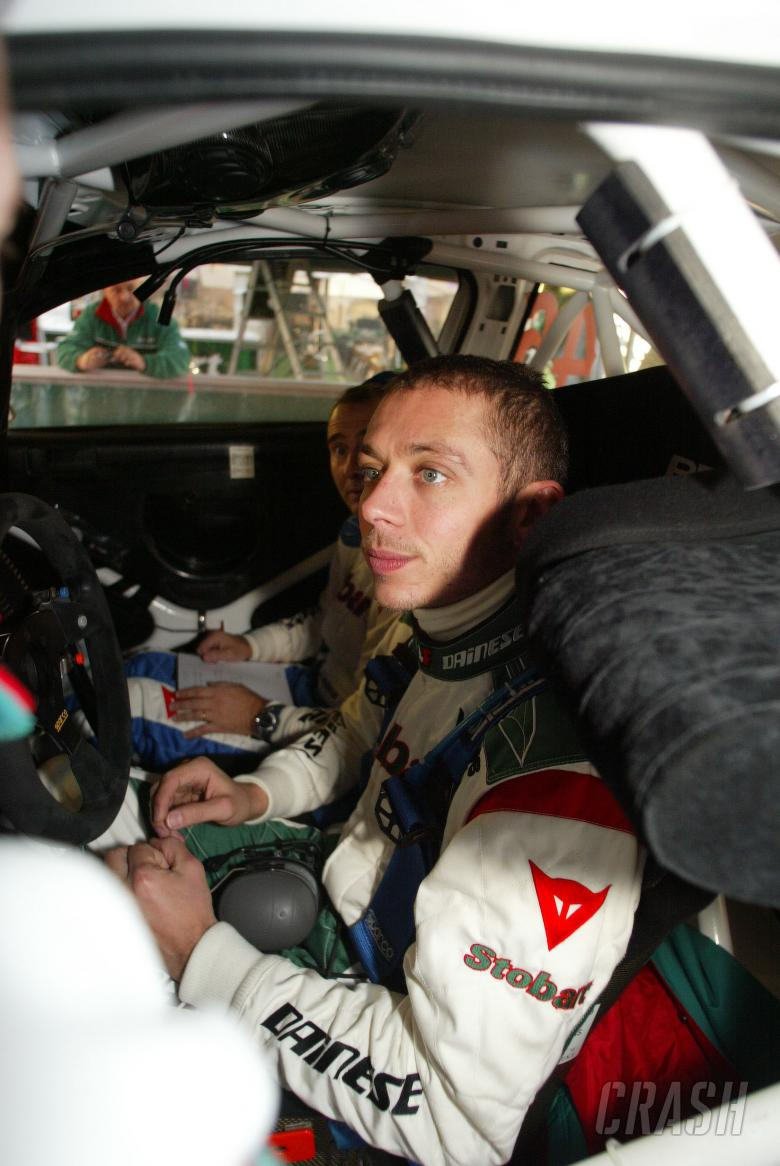 Valentino Rossi (I) Carlo Cassina (I) Ford Focus RS WRC 07