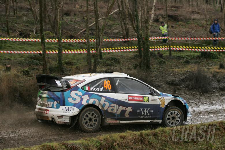 Valentino Rossi (ITA) Carlo Cassina (ITA), Ford Focus RS WRC 07, Stobart VK M-Sport Ford Rally Team