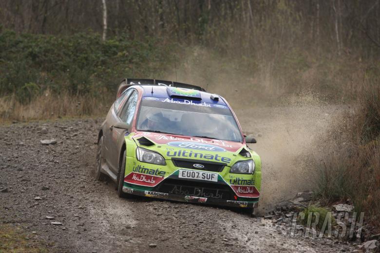 Jari-Matti Latvala (FIN) Miikka Anttila(FIN), Ford Focus RS WRC07, BP Ford Abu Dhabi World Rally Tea