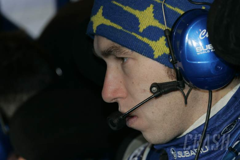 Chirs Atkinson (AUS) Subaru Impreza WRC 08, Subaru World Rally Team