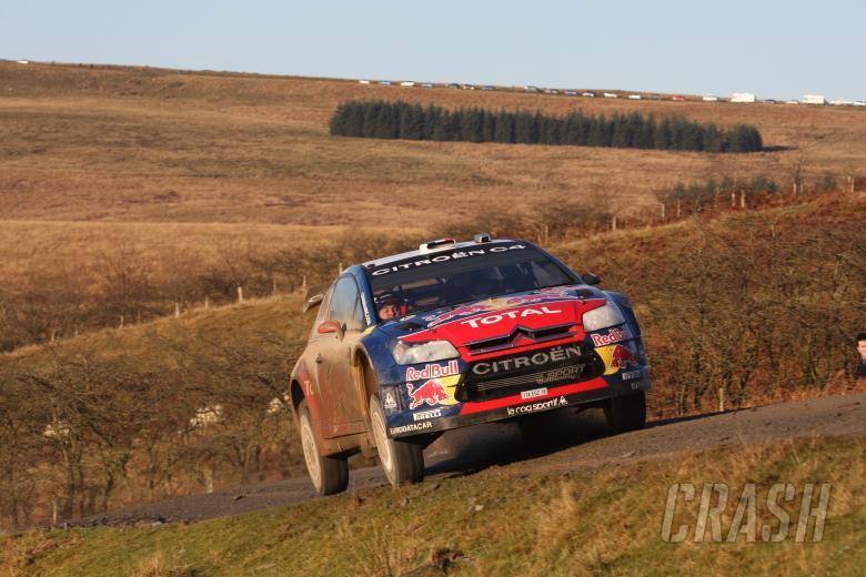 Sebastian Loeb (F) - Daniel Elena (MC) Citroen C4 WRC, Citroen Total World Rally Team