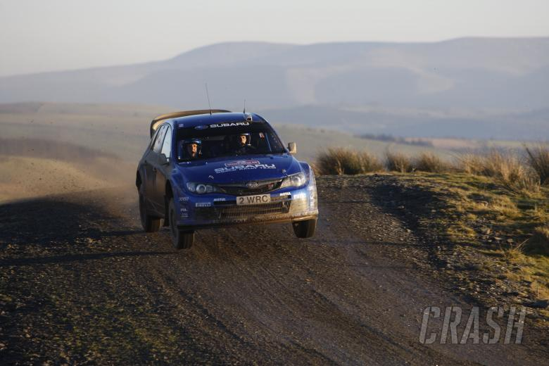 Petter Solberg (NOR) Philip Mills (GBR), Subaru Impreza WRC 2008, Subaru World Rally Team