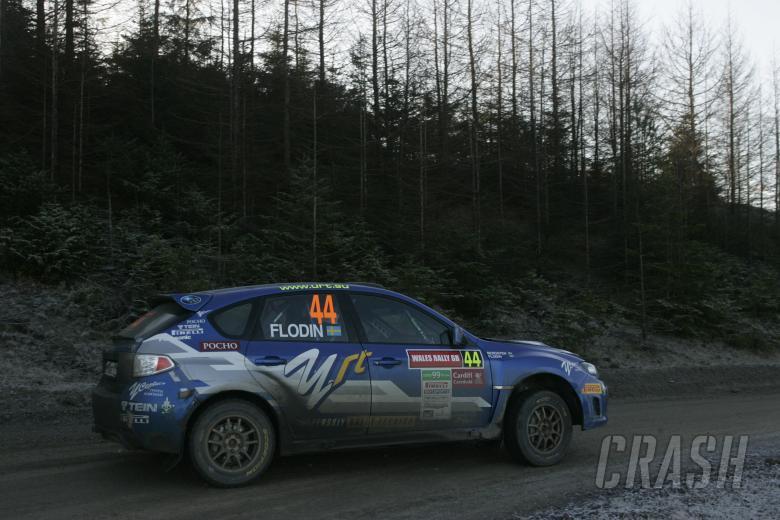 Patrik Flodin (S) Maria Andersson (S) Subaru Impreza, Rally Team Olsberg