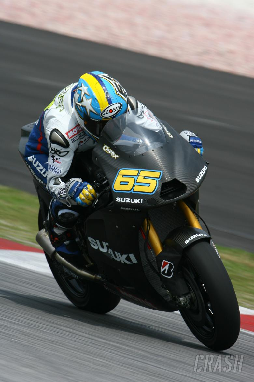 Capirossi, Sepang MotoGP Test 2009
