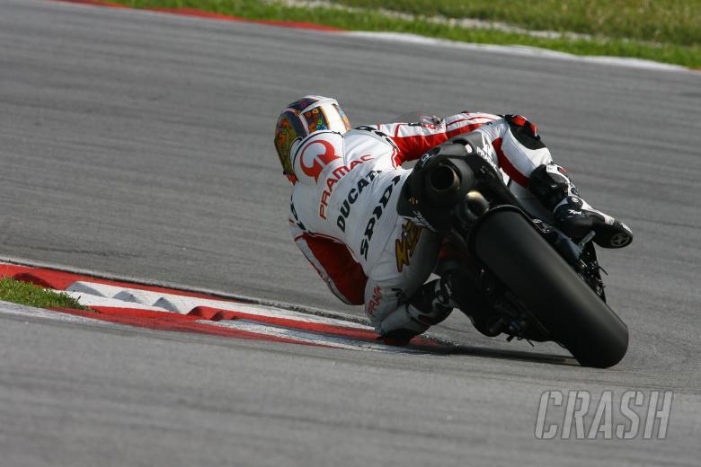 Canepa, Sepang MotoGP Test 2009