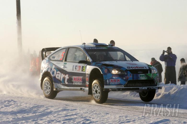 Urmo Aava (EST) Kuldar Sikk (EST), Ford Focus RS WRC 08, Stobart VK M-Sport Ford Rally Team