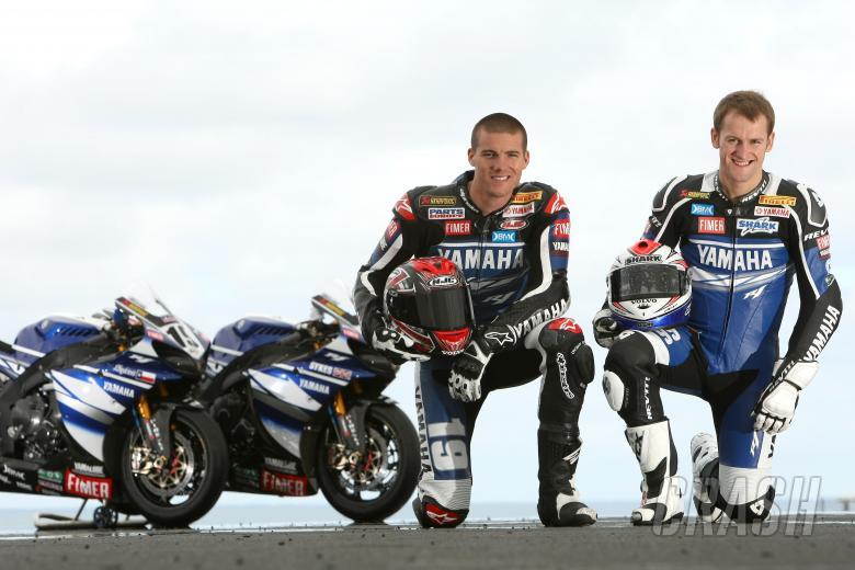 Spies, Sykes, Yamaha R1 2009, Australian WSBK 2009