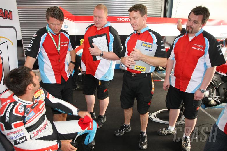 Team Stiggy Motorsport, Haslam, Qatar WSBK 2009