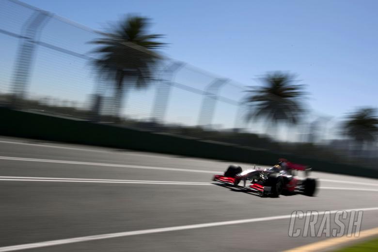 Lewis Hamilton (GBR) McLaren MP4-24, Australian F1 Grand Prix, Albert Park, Melbourne, 27-29th, Marc