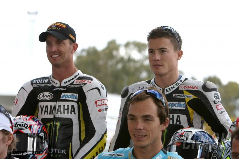 Edwards, Toseland, Jerez MotoGP Test 2009