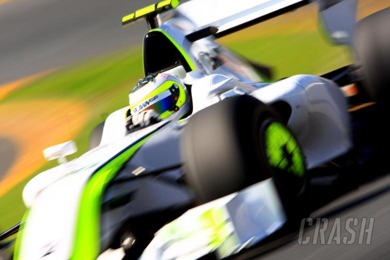 Rubens Barrichello (BRA) Brawn Mercedes-BenzING Australian Formula 1 Grand PrixRd 1 World F1