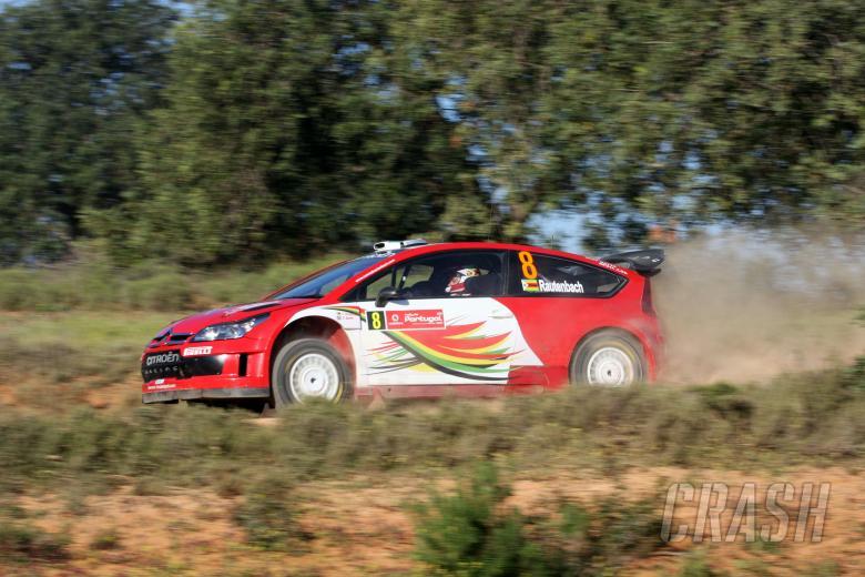 Conrad Rautenbach (ZW) Daniel Barritt (GB), Citroën C4 WRC, Citroen Junior Team