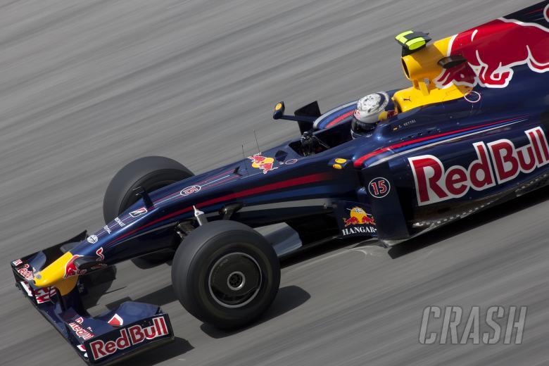 Sebastian Vettel (GER) Red Bull RB5, Malaysian F1 Grand Prix, Sepang, Kuala Lumpar, 3rd-5th, April 2