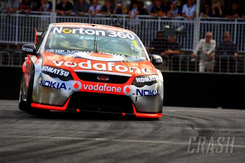 Jamie Whincup (Aust) Team Vodafone 888 FordRd 2 V8 Supercars Hamilton 400Hamilton, New Zea