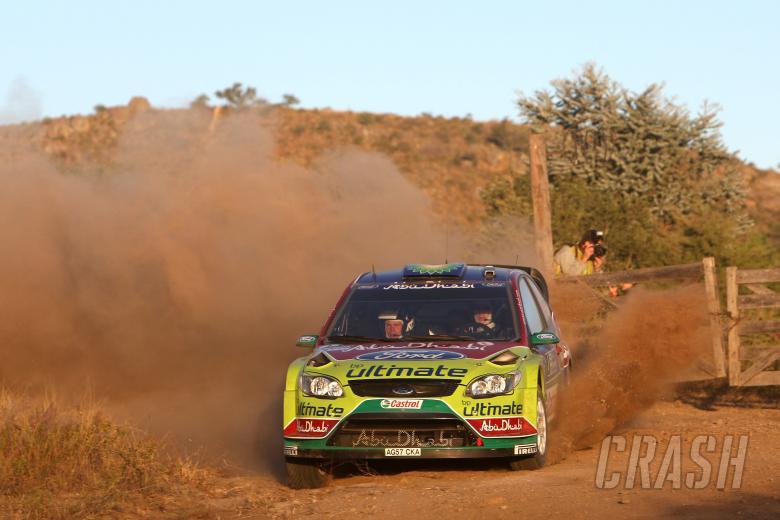 Jari-Matti Latvala (FIN) Miikka Anttila(FIN), Ford Focus RS WRC08, BP Ford Abu Dhabi World Rally Tea