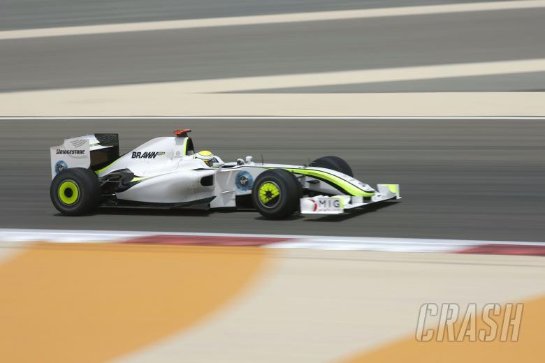 Jenson Button (GBR) Brawn BGP001, Bahrain F1 Grand Prix, Sakhir, Bahrain, 24-26th, April, 2009