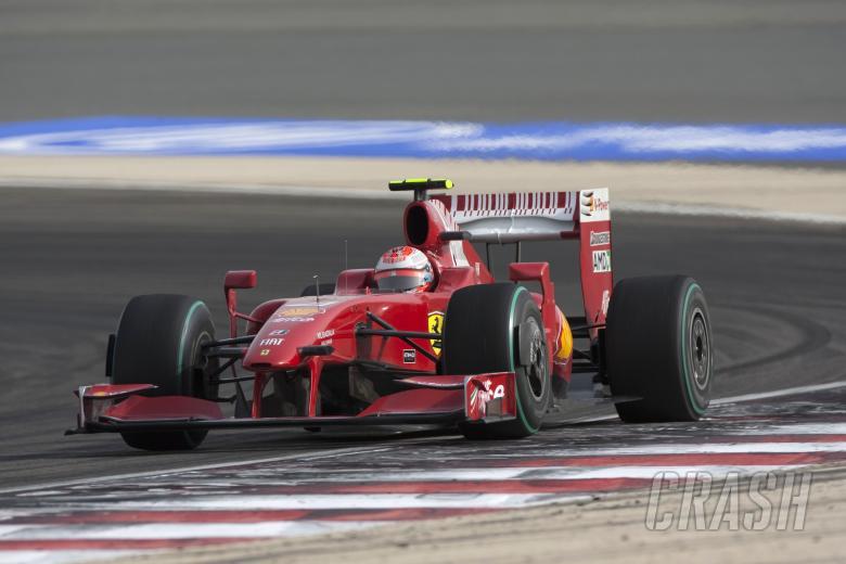 Kimi Raikkonen (FIN) Ferrari F60, Bahrain F1 Grand Prix, Sakhir, Bahrain, 24-26th, April, 2009