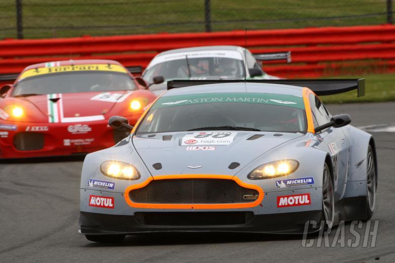 Frederic Makowiecki (FRA)/Stefan Mucke (GER) - Hexis Racing AMR Aston Martin V8 Vantage
