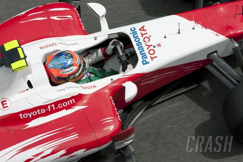 Timo Glock (GER) Toyota TF109, Spanish F1 Grand Prix, Catalunya, 8th-10th, May, 2009