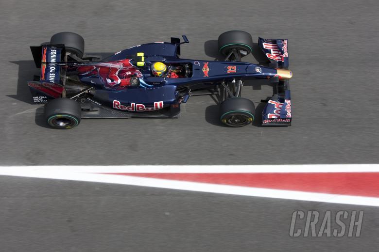 Sebastien Buemi (SUI) Toro Rosso STR4, Spanish F1 Grand Prix, Catalunya, 8th-10th, May, 2009