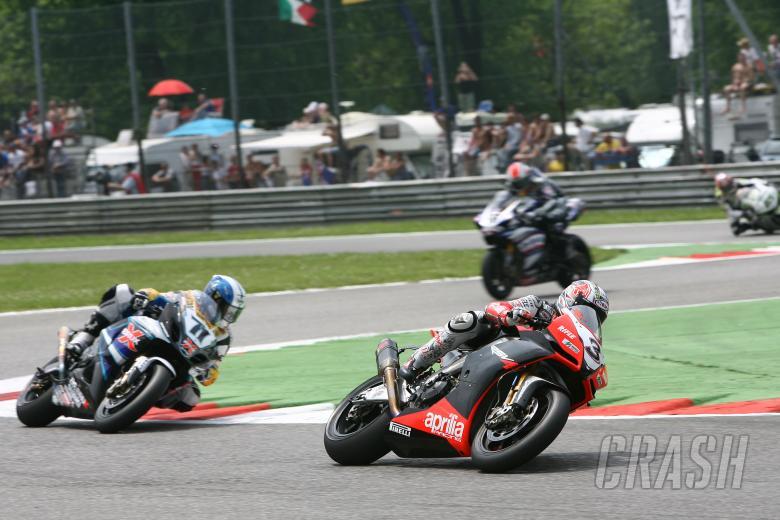 Biaggi, Monza WSBK Race 1 2009