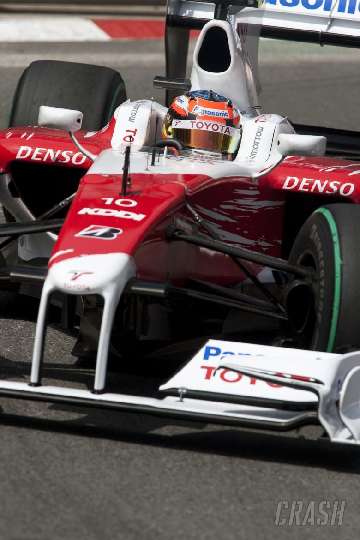 Timo Glock (GER) Toyota TF109, Monaco F1 Grand Prix, 21st-24th, May 2009