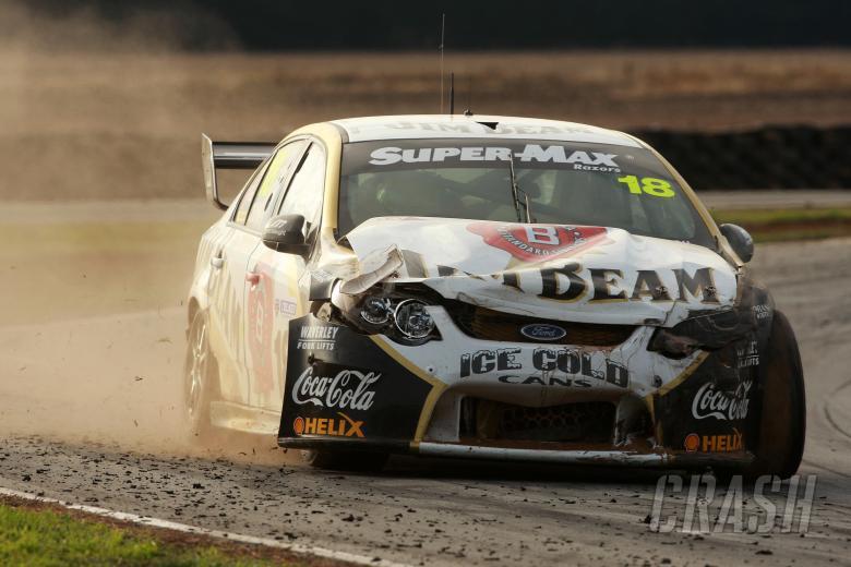 James Courtney, (Aust) Jim Beam DJR Ford    Races 7 & 8 V8 Supercars Falken Tasmanian challenge