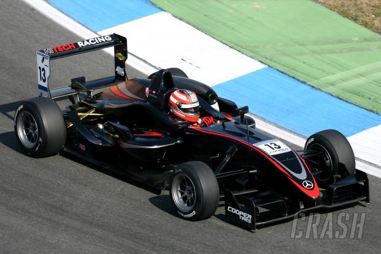 Walter Grubmuller (AUT) - Hitech Dallara Mercedes