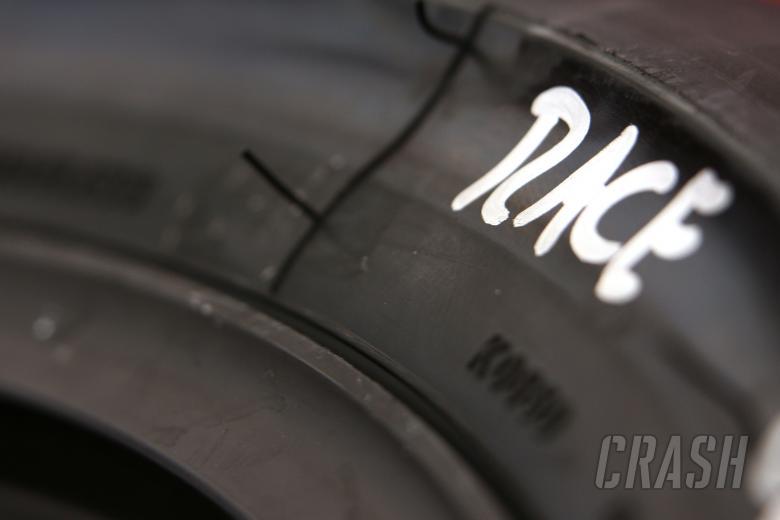 Bridgestone tyre, Catalunya MotoGP 2009