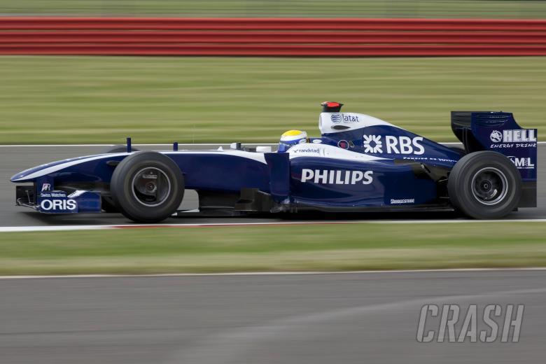Nico Rosberg (GER) Williams FW31, British F1, Silverstone, 19th-21st, June, 2009