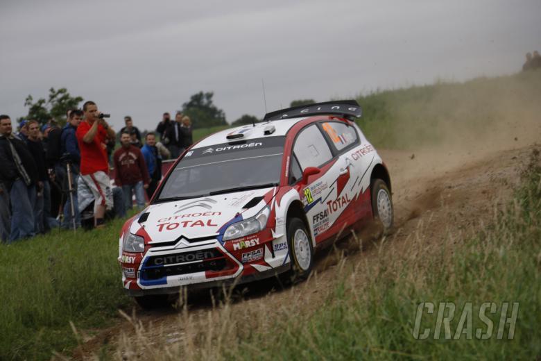 Sebastien Ogier (F) Julien Ingrassia (F) Citroen C4 WRC, Citroen Junior Team