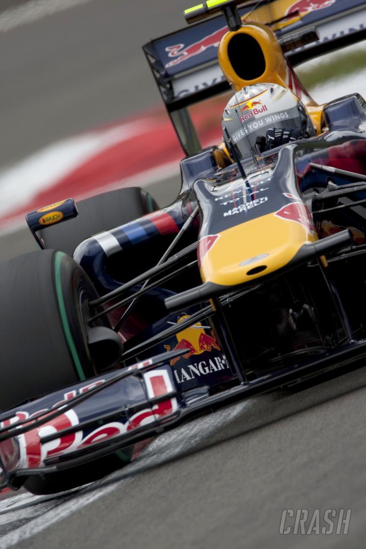 Sebastian Vettel (GER) Red Bull RB5, German F1 Grand Prix, Nurburgring, 10-12th, July 2009