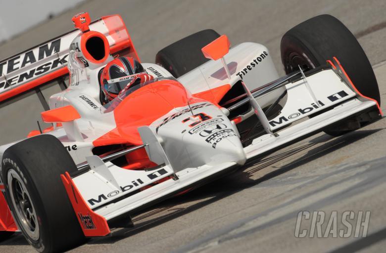 Indy Racing League.  10-12 July 2009.  Honda Indy of Toronto. Tornoto, Ontario, Canada.  Helio Castr