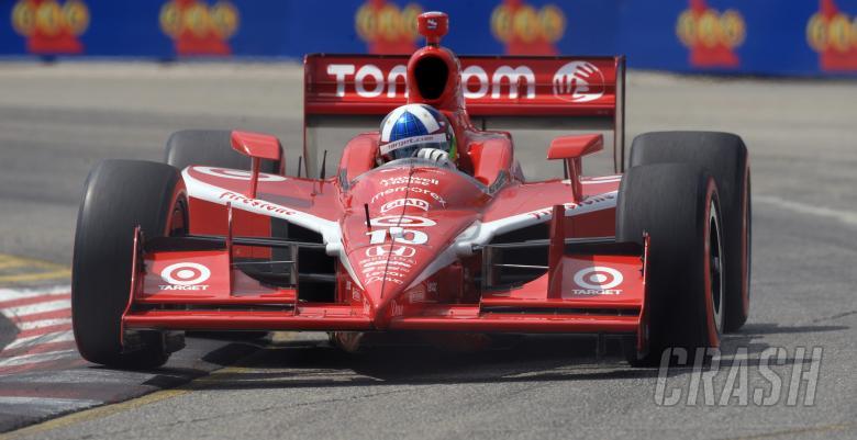 Indy Racing League.  10-12 July 2009.  Honda Indy of Toronto. Tornoto, Ontario, Canada.  Pole sitter