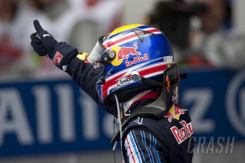 Mark Webber (AUS) Red Bull RB5 Wins, German F1 Grand Prix, Nurburgring, 10-12th, July 2009