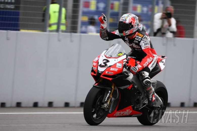 Biaggi, Wins, Czech WSBK Race 1 2009
