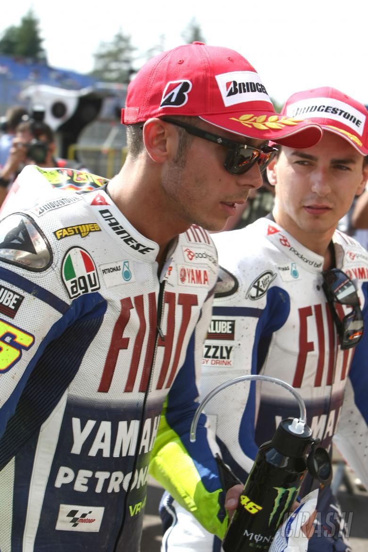 Rossi, Lorenzo, Czech MotoGP 2009